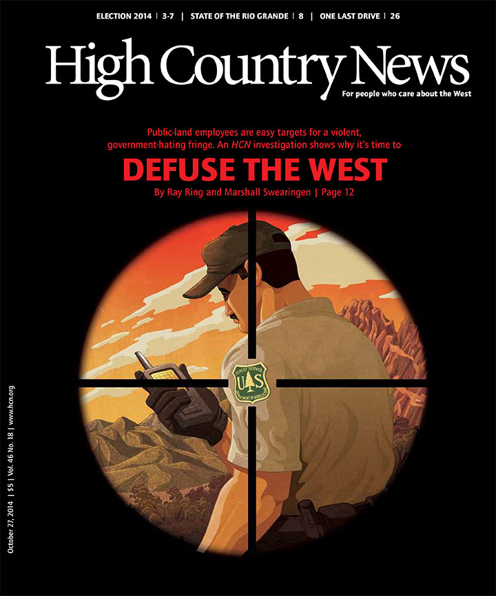 High Country News Cover