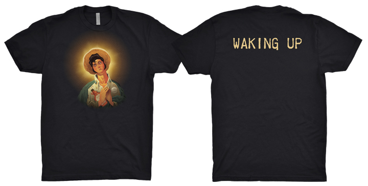 paul lachine illustrations elvis tee